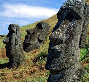 Moai kipovi